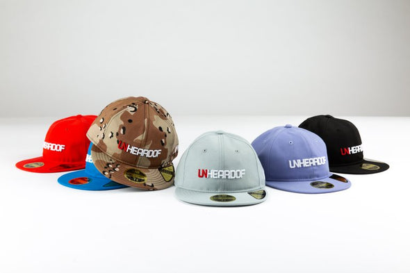 UNHEARDOF Bar Logo New Era Retro Crown Fitted