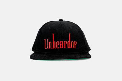 UNHeardof Cigarette Adjustable Corduroy 6 Panel Cap