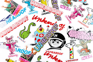 UNheardof Sticker Pack