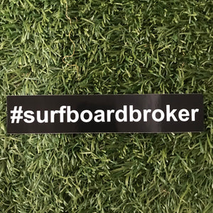 #Surfboardbroker Sticker (10pk) 5Small&5Large