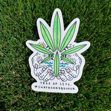 "Drew Toonz ""Surfers Have The Best Weed"" / SpaceBatKiller ""Tree Of Life Sticker (4Pack)"