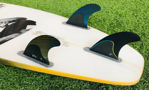 Futures Mayhem Template Tri Fin Set