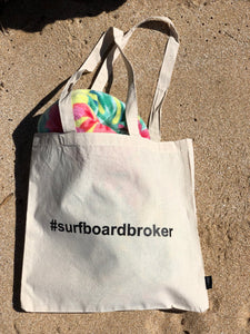 #Surfboardbroker  Beach Bag