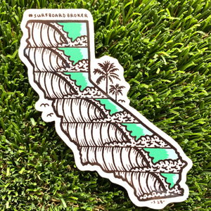 California Sticker (3pk) Shipped