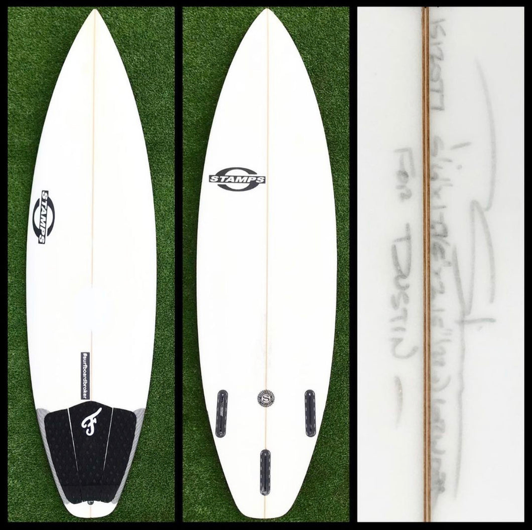 5'6 Stamps Surfboard