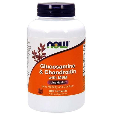 NOW Glucosamine and Chondroitin with MSM