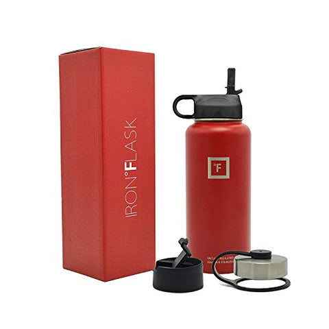 Iron Flask 32 Oz Stainless Steel Water Bottle