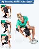 ActiveWrap Ice Therapy Knee Wrap - Gel Packs Included