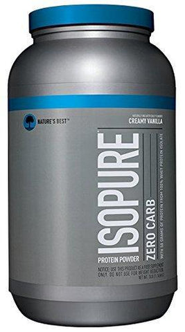 Isopure Zero Carb Protein Powder - 100% Whey Protein Isolate