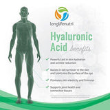 LLN Hyaluronic Acid 100 Mg - Supports Knees & Joints