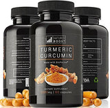 Nature's Boost Tumeric And Curcumin With Black Pepper Bioperine