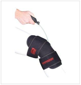 O2 Cold Therapy Knee Brace With Ice Pack And Air Compression Wrap