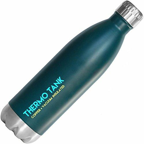 Thermo Tank Insulated Stainless Steel Water 25 Oz Bottle