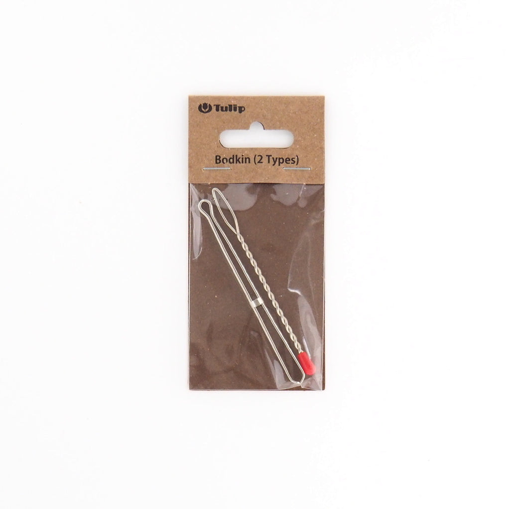 Tulip Bodkin Set -  Jagged Grip and Ball Tip for Elastic