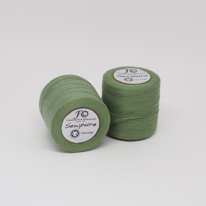 SEWPURE ORGANIC COTTON THREAD AVOCADO