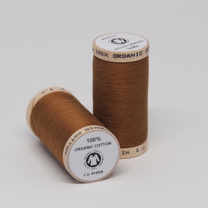 SCANFIL ORGANIC COTTON THREAD ACORN