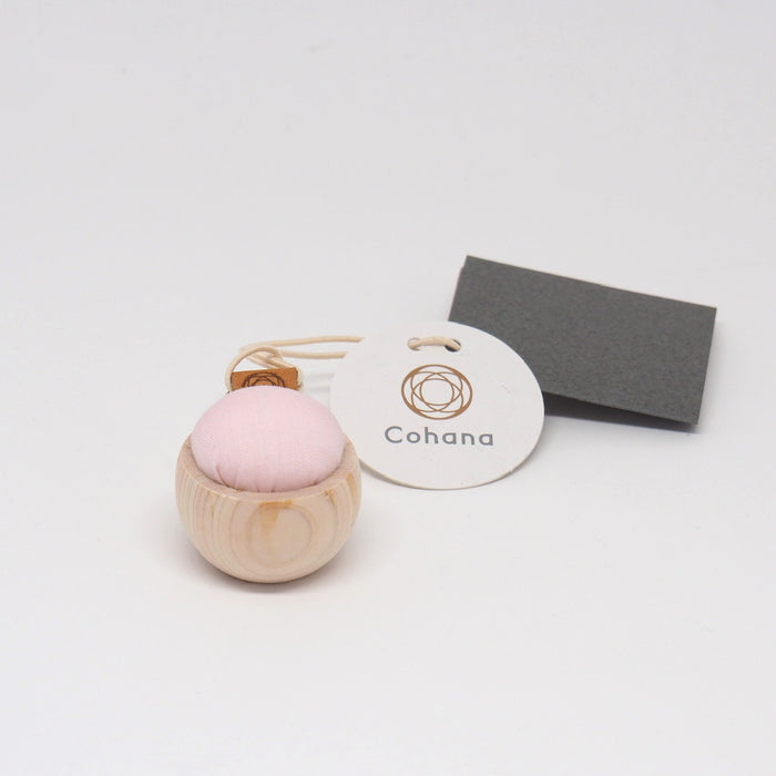 Cohana Cypress and Banshu Pincushion - PINK