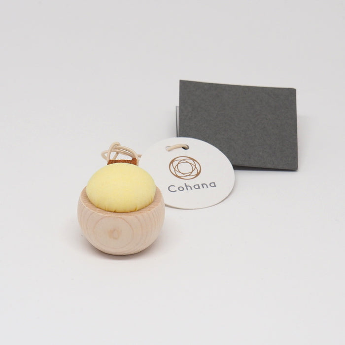 Cohana Cypress and Banshu Pincushion - YELLOW