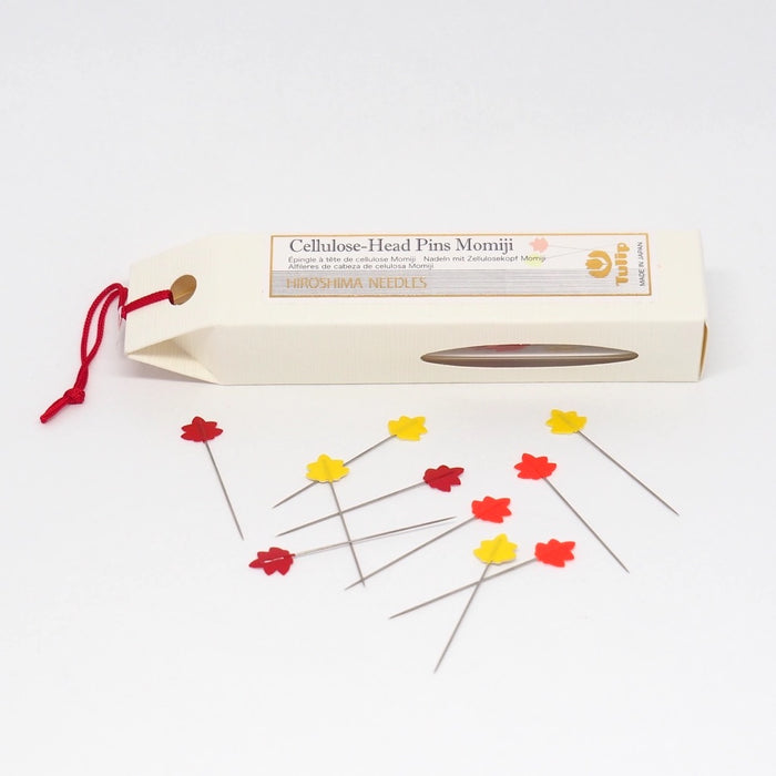 Tulip Hiroshima - Cellulose Head Pins Momiji