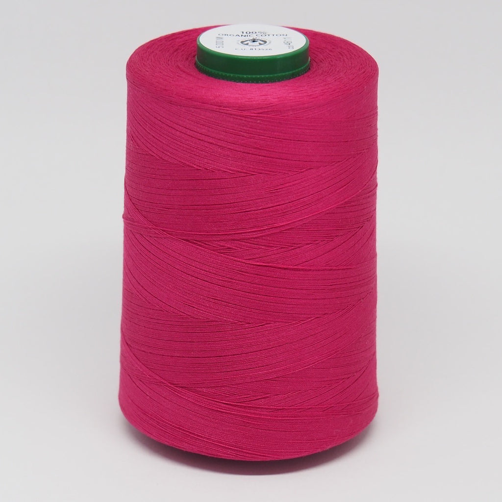 SCANFIL ORGANIC COTTON THREAD DEEP ROSE