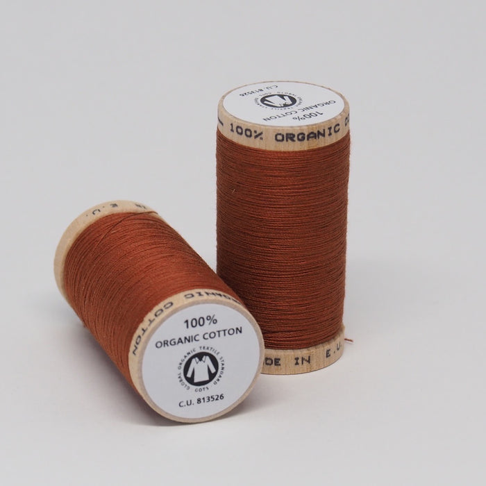 SCANFIL ORGANIC COTTON THREAD TERRACOTTA