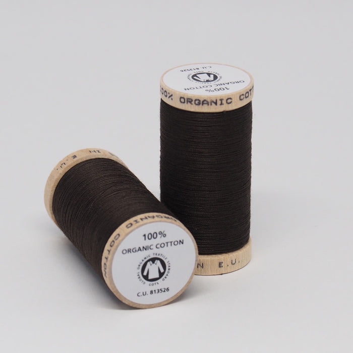 SCANFIL ORGANIC COTTON THREAD CHESTNUT