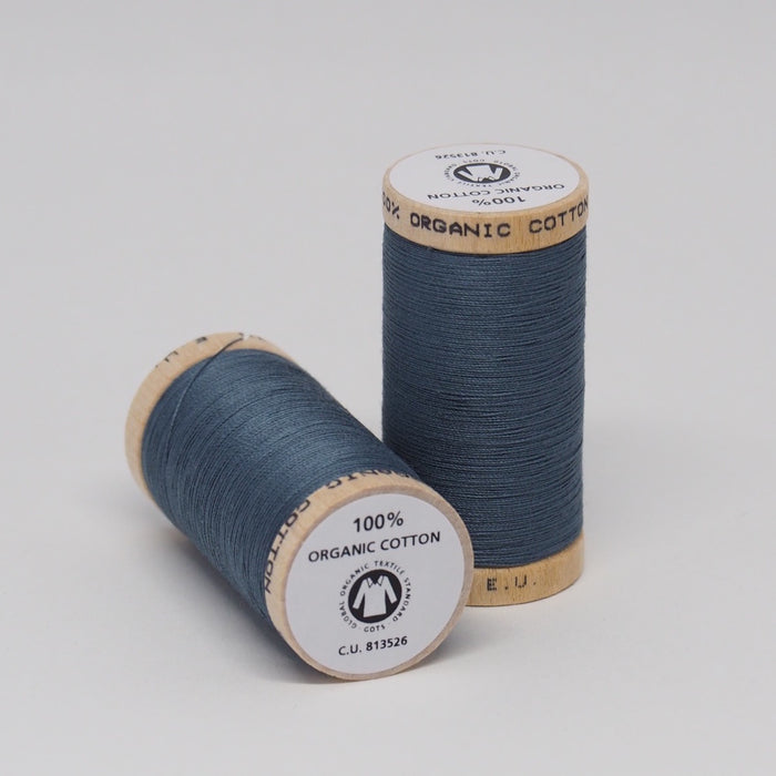 Organic Cotton Thread Stormy Blue