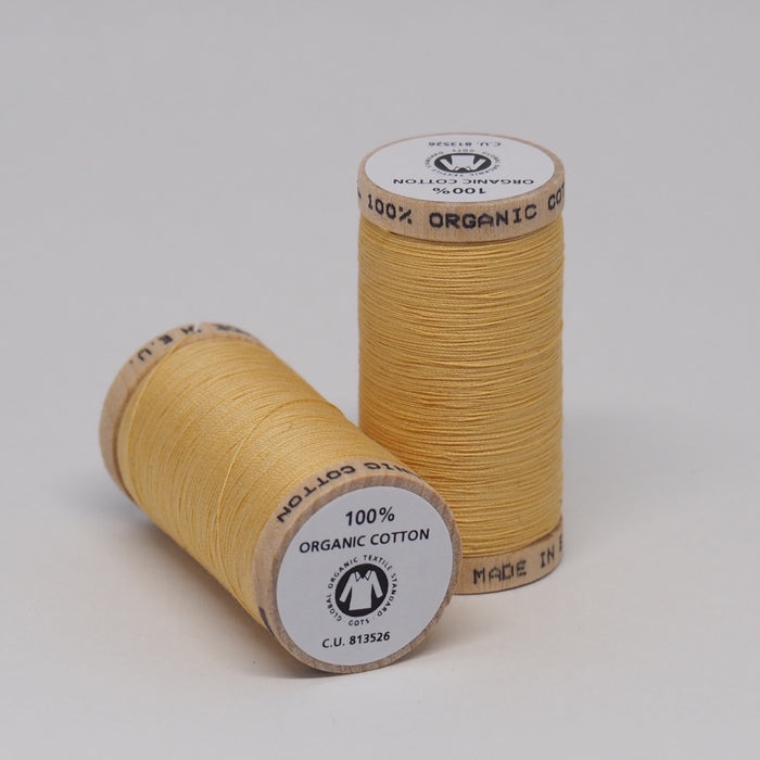 SCANFIL ORGANIC COTTON THREAD STRAW