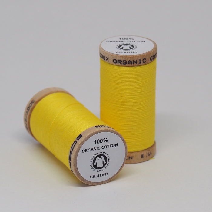 Organic Cotton Thread Lemon
