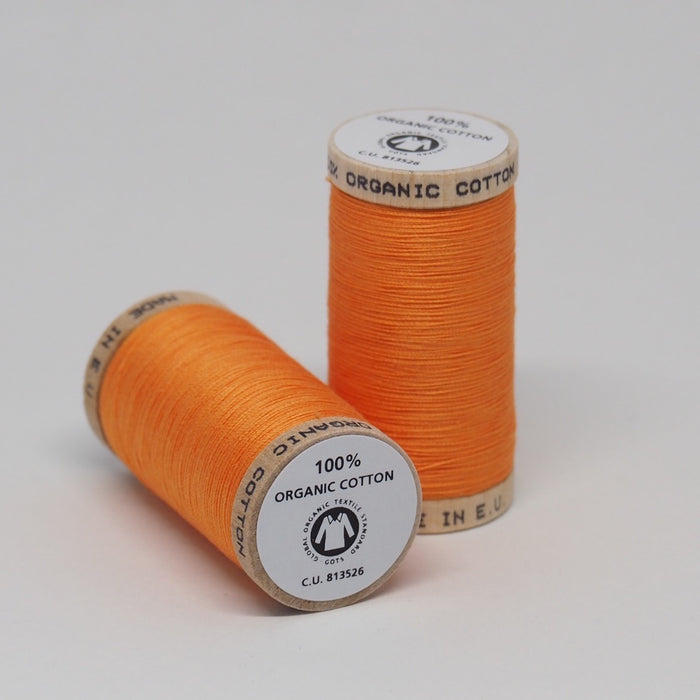 Organic Cotton Thread Tangerine
