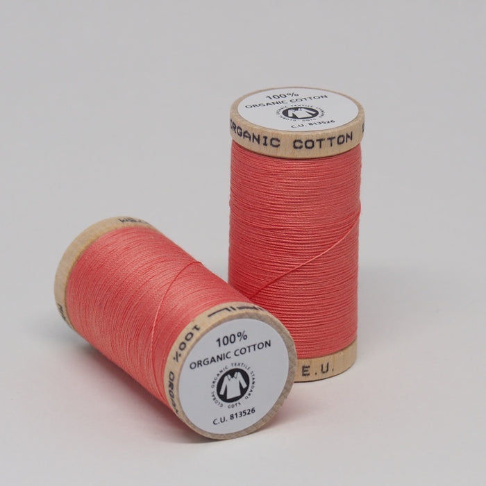 Organic Cotton Thread Salmon