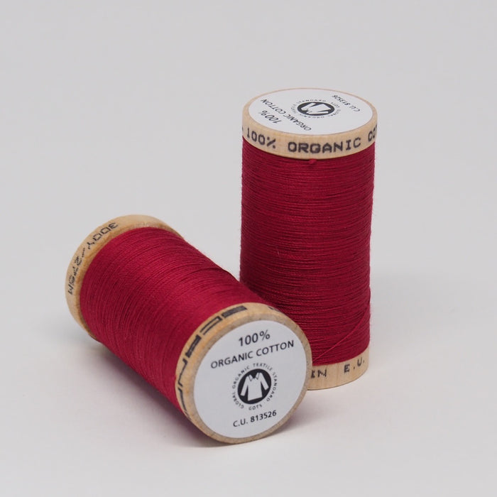SCANFIL ORGANIC COTTON THREAD WINE