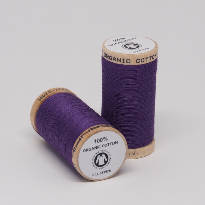 SCANFIL ORGANIC COTTON THREAD GRAPE