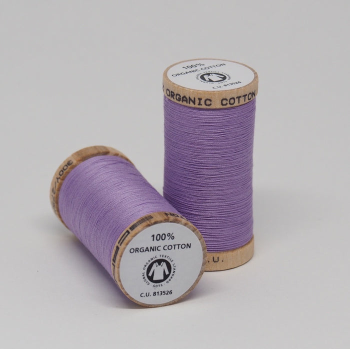 SCANFIL ORGANIC COTTON THREAD LAVENDER