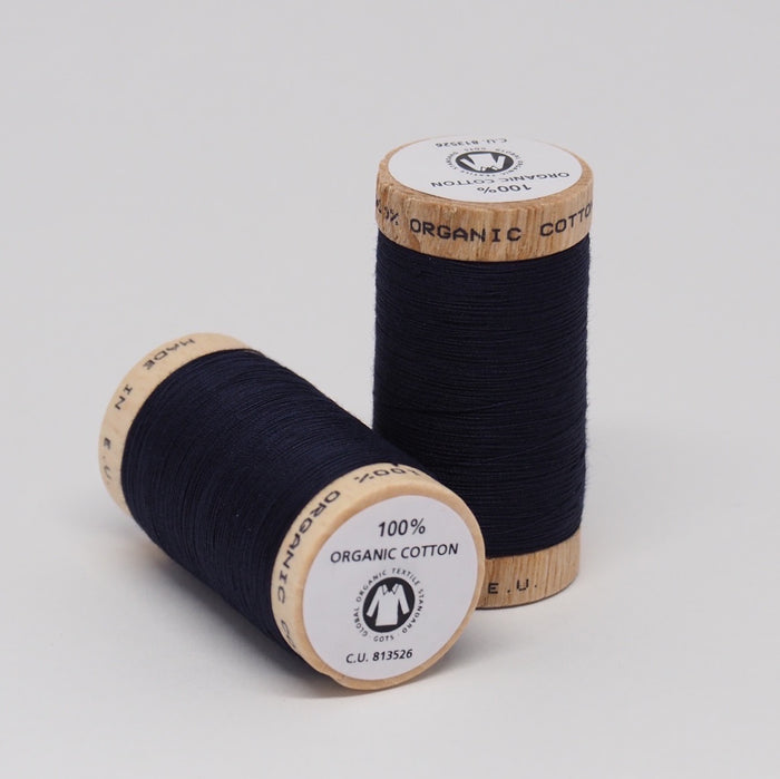 Organic Cotton Thread Midnight Blue