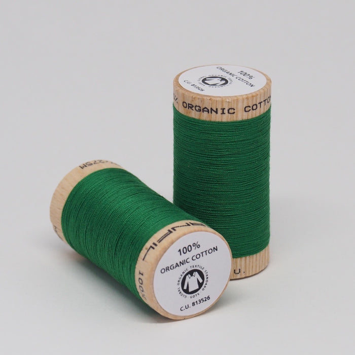 SCANFIL ORGANIC COTTON THREAD GRASS