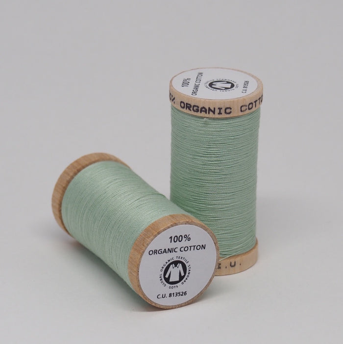 SCANFIL ORGANIC COTTON THREAD SEAFOAM