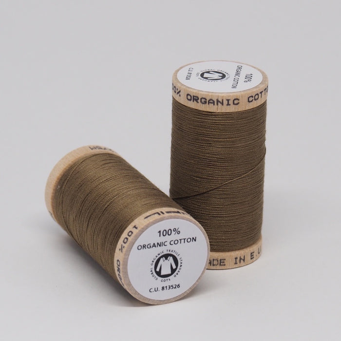 SCANFIL ORGANIC COTTON THREAD ELK BROWN