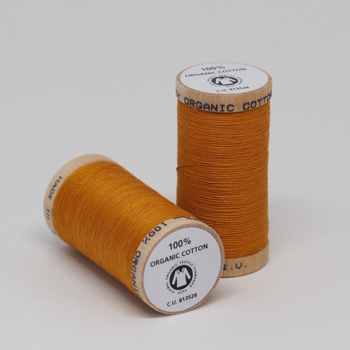 Organic Cotton Thread Ocre