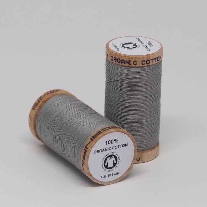 SCANFIL ORGANIC COTTON THREAD STEEL