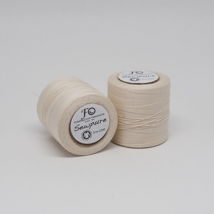 SEWPURE ORGANIC COTTON THREAD NATURAL