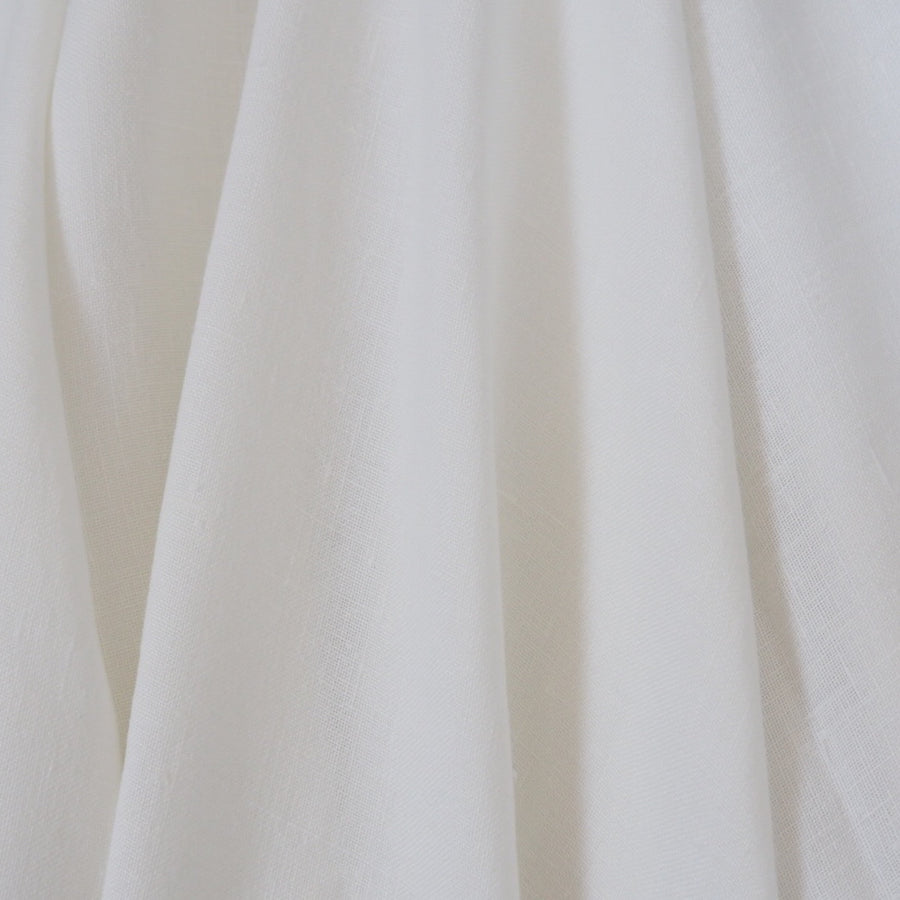 GOTS Certified Fine Linen - Optical White - 1/4 metre