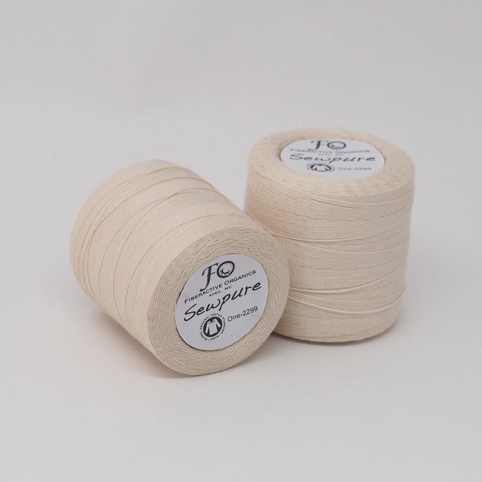 Sewpure Organic Cotton Thread Natural  - Tex 70