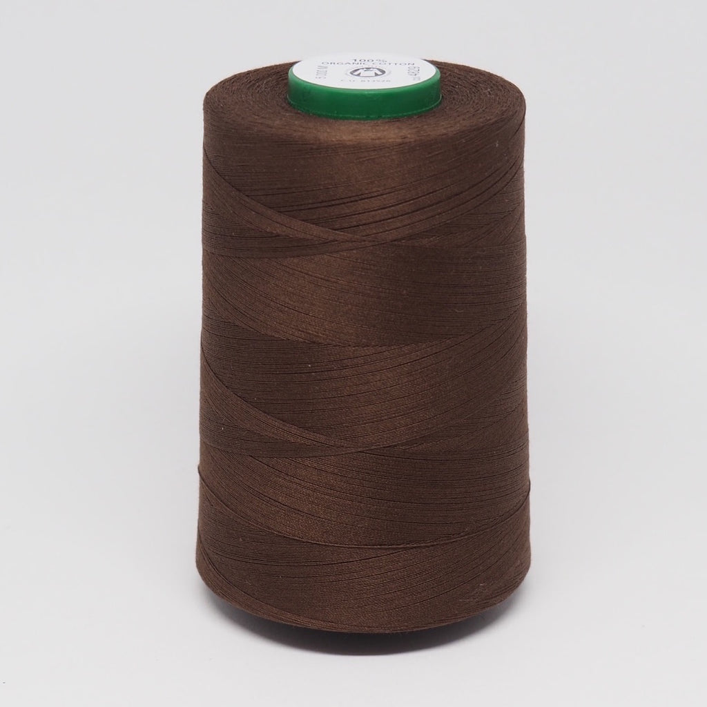 SCANFIL ORGANIC COTTON THREAD WALNUT