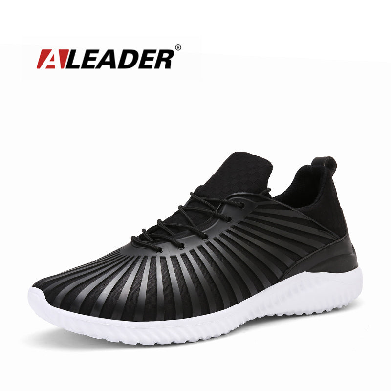 Aleader Spring Fashion Men Shoes Lightweight Air Mesh Trainers Shoes Superstar Casual walking Flats Men tenis feminino