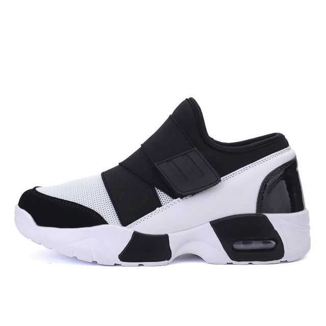 Famous Brand Air Mesh Men Shoes Walking Shoes Trainers Female Basket High top Breathable zapatillas X121210