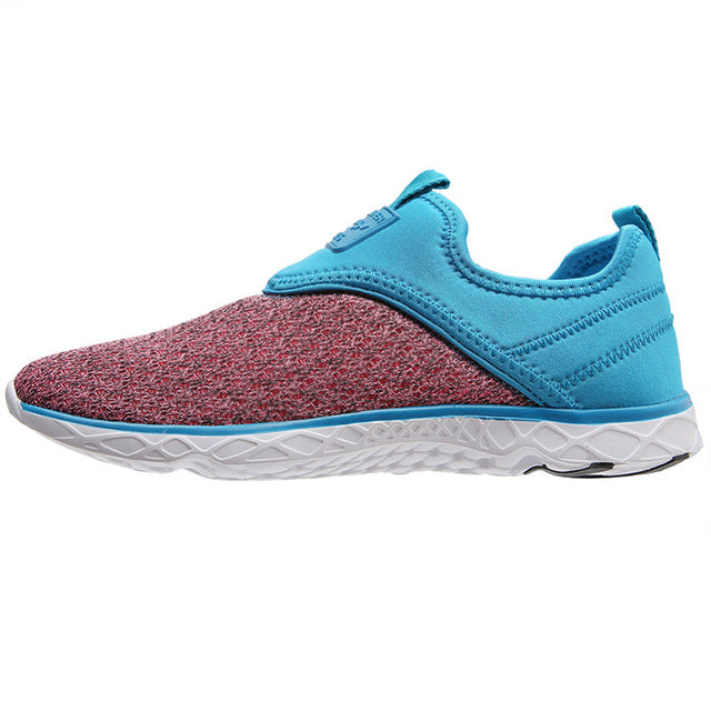 Aleader Women Cushion Walking Flats Lightweight Casual Shoes Comfortable Outdoor Beach Water Shoes Beauty zapatillas mujer
