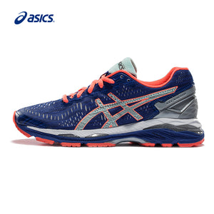Original ASICS GEL-KAYANO 23 Night Running Women's Cushion Stability Running Shoes ASICS Sports Shoes Sneakers free shipping