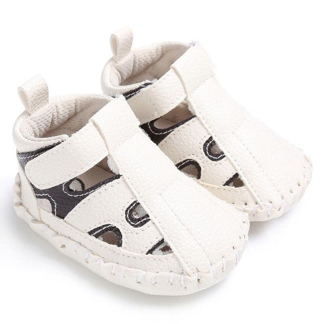 leather Boys toe cap covering sandals Kids baby sandals children baby toddler shoes children shoes