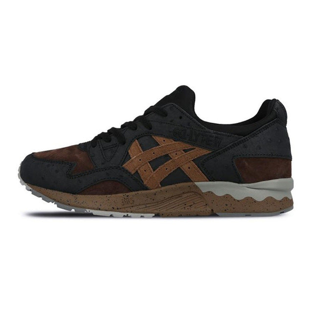 ASICS Men Shoes Breathable Anti-Slippery Cushioning Running Shoes Leisure Retro Sports Shoes